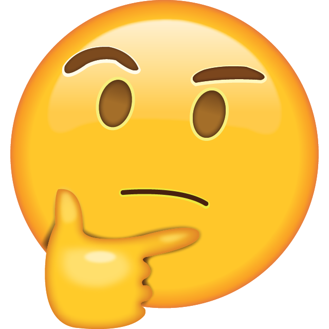 Image result for wondering emoji